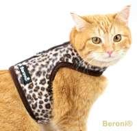Cat Walking Jacket Katzengeschirr Leopard