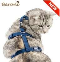 Sicherheitsgeschirr Katze Panikgeschirr blau